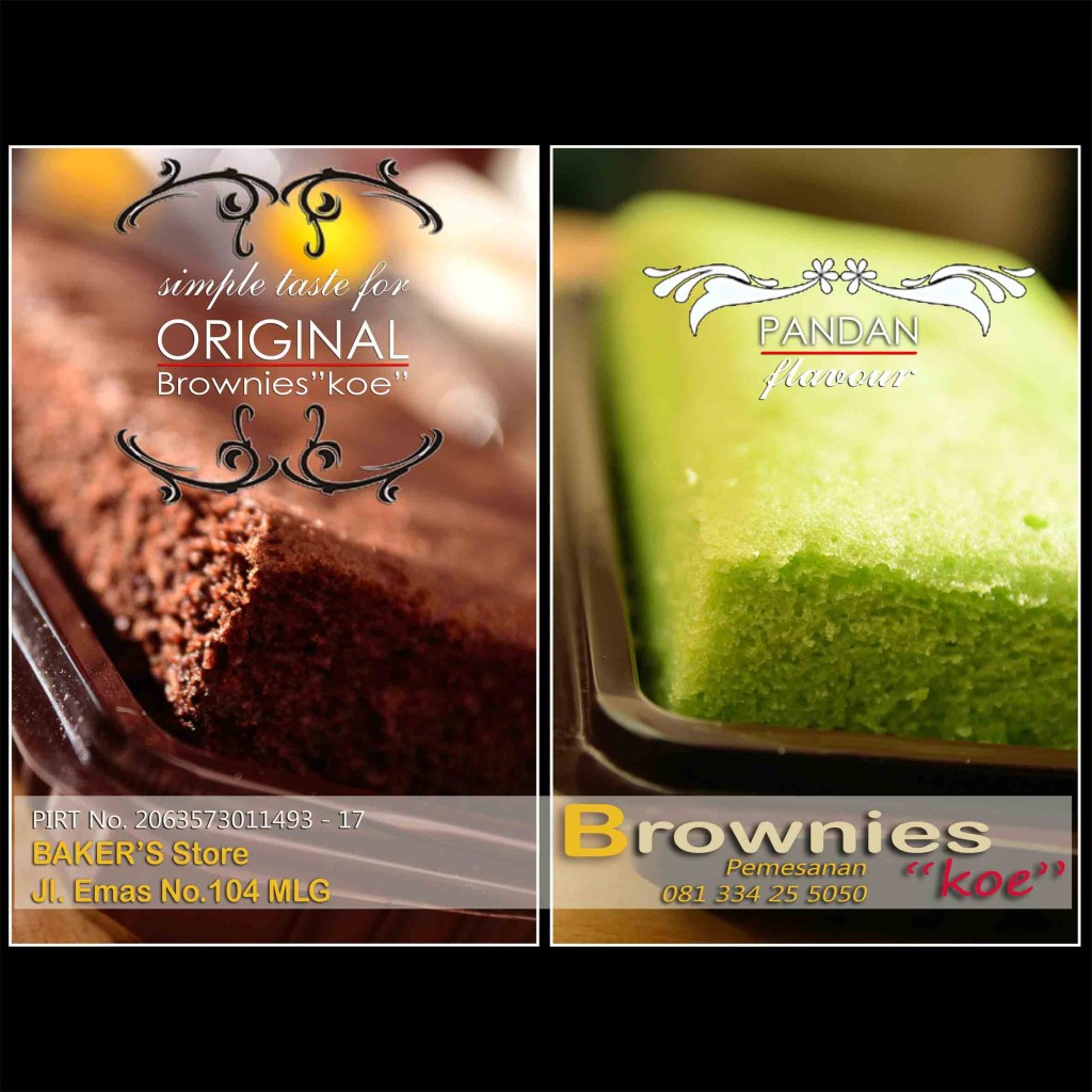 """Brownies kukus Original by Brownies""""koe"""""""