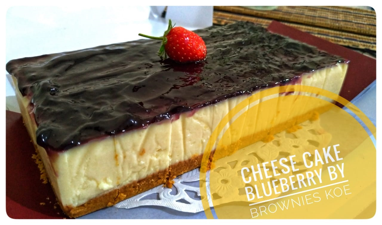 Cheese Cake Blueberry Keju only 120K