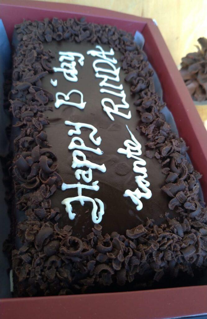 Brownies Full Coklat toping